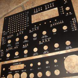 Midibox MB6582 Panel Set (black&white)