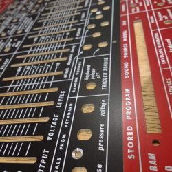 Specials – Buchla style 208 panel –  red