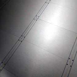 Buchla style printed blanking panel