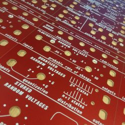 Specials – Buchla style 266 panel – red