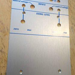 Buchla style 110F panel